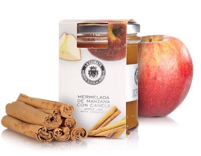 Mermelada de manzana con canela de La Chinata