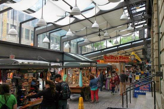 Quincy Market, puestos regalos
