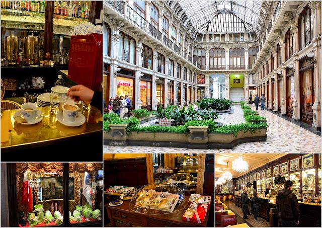 Torino, galleria Subalpina e caffetteria Baratti