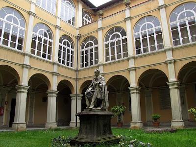 Giuseppe Micali by Giovanni Paganucci, Palazzo di Giustizia, Livorno