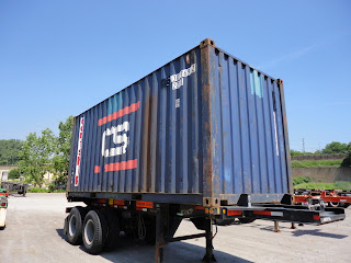 buy a used 20' shipping container