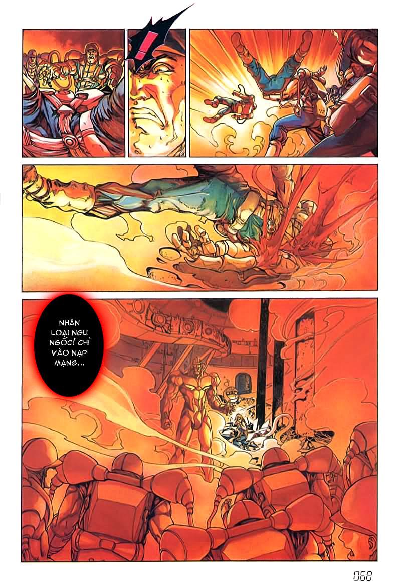 Cyber Weapon Z - Siêu Thần Z chap 4 - Trang 27