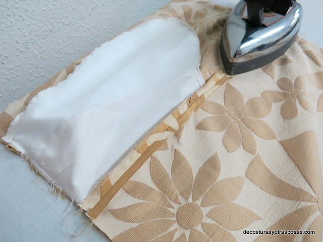 como planchar costuras costados