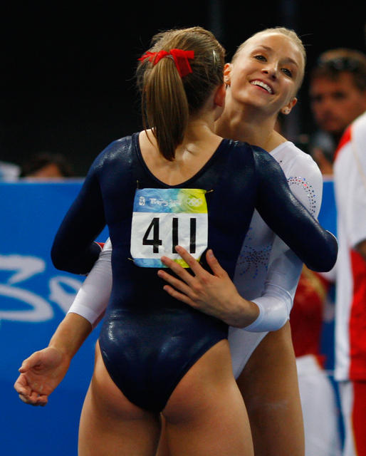 from Issac sexy female gymnast ass