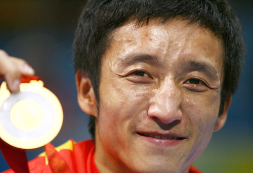 Zou Shiming won Gold Medal in 2012 London Olympics