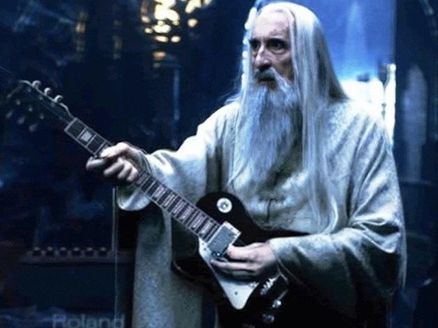 Porque Saruman también rockeaba....
