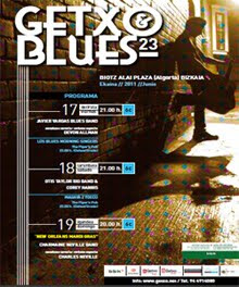 Javier Vargas Blues Band y Otis Taylor al Festival de Blues de Getxo