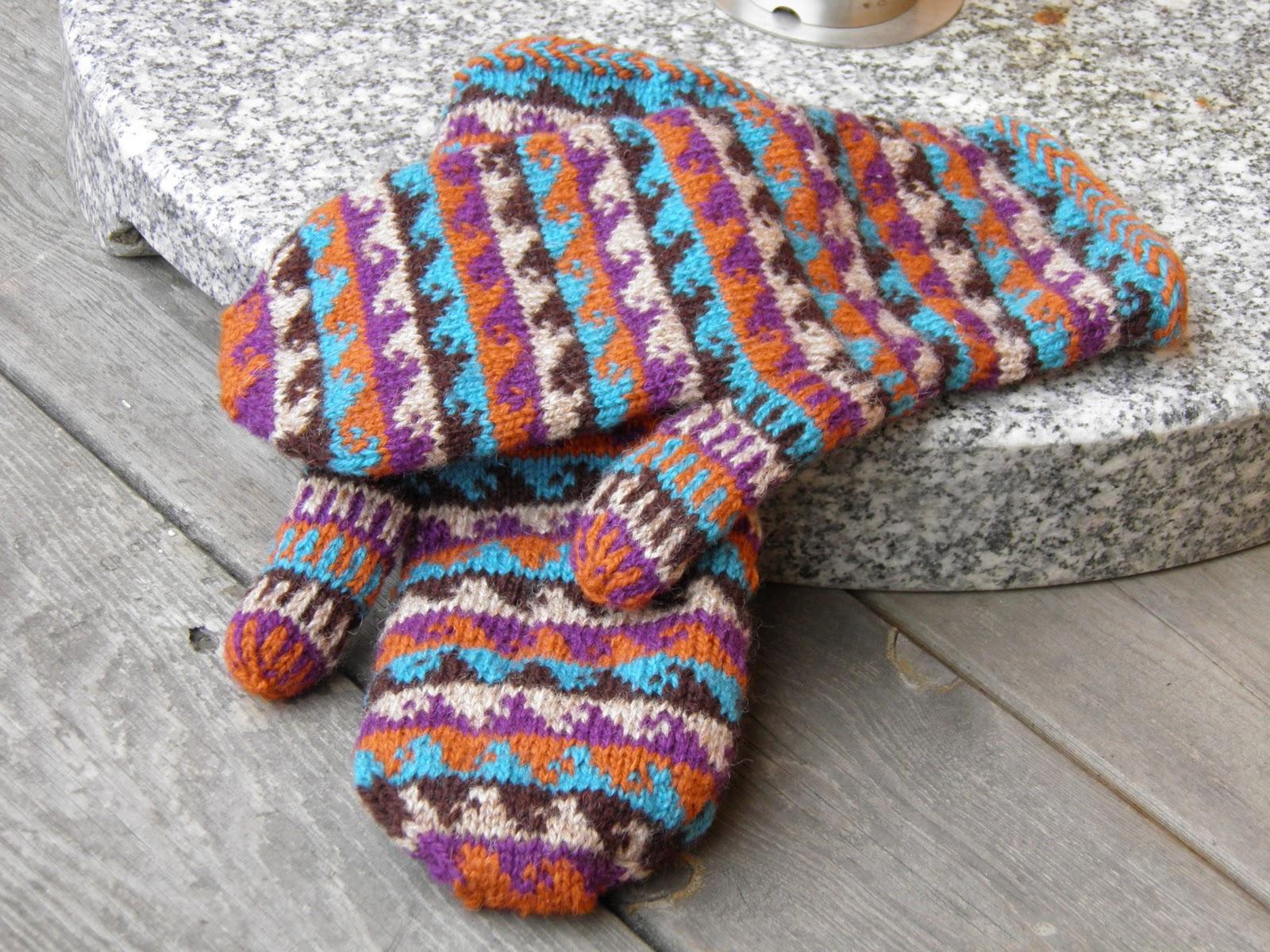 torirots stitches: Test knitting