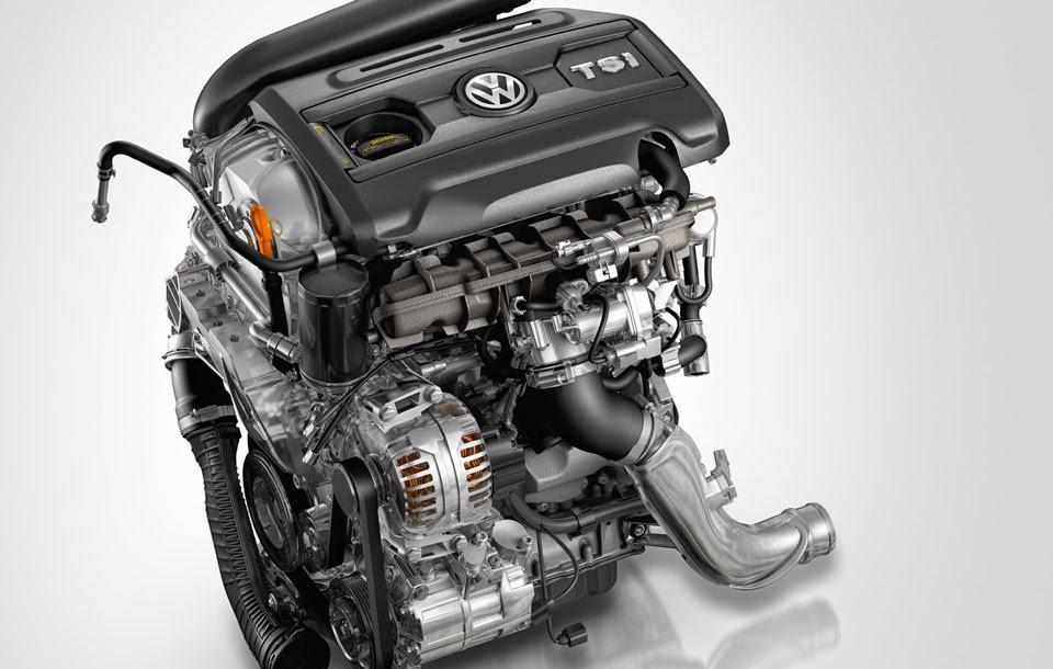 Motor Turbo do novo Jetta 2014 da volks