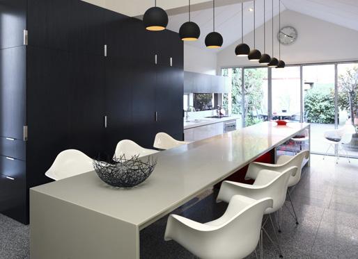 Living in designland bancadas cocina de una pieza - Bancadas de cocina ...