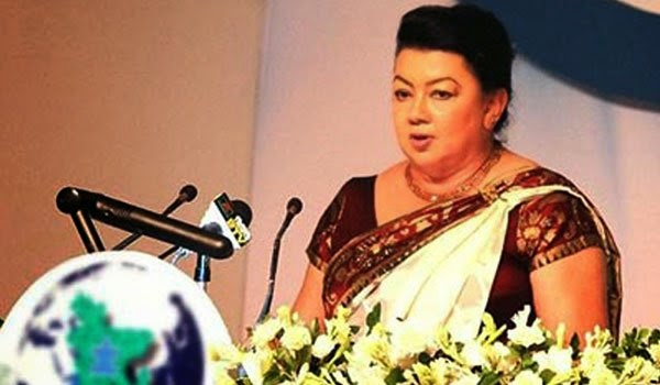 Shiranthi Rajapaksa in NGO boiling hot water