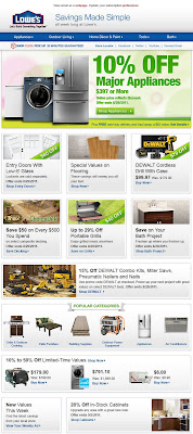 Click to view this Aug. 25, 2011 Lowe's email full-sized