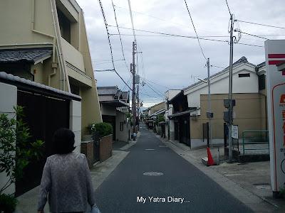 Naramachi streets, Japan