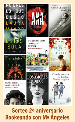 Sorteo en Blog Bookeando con MªÁngeles