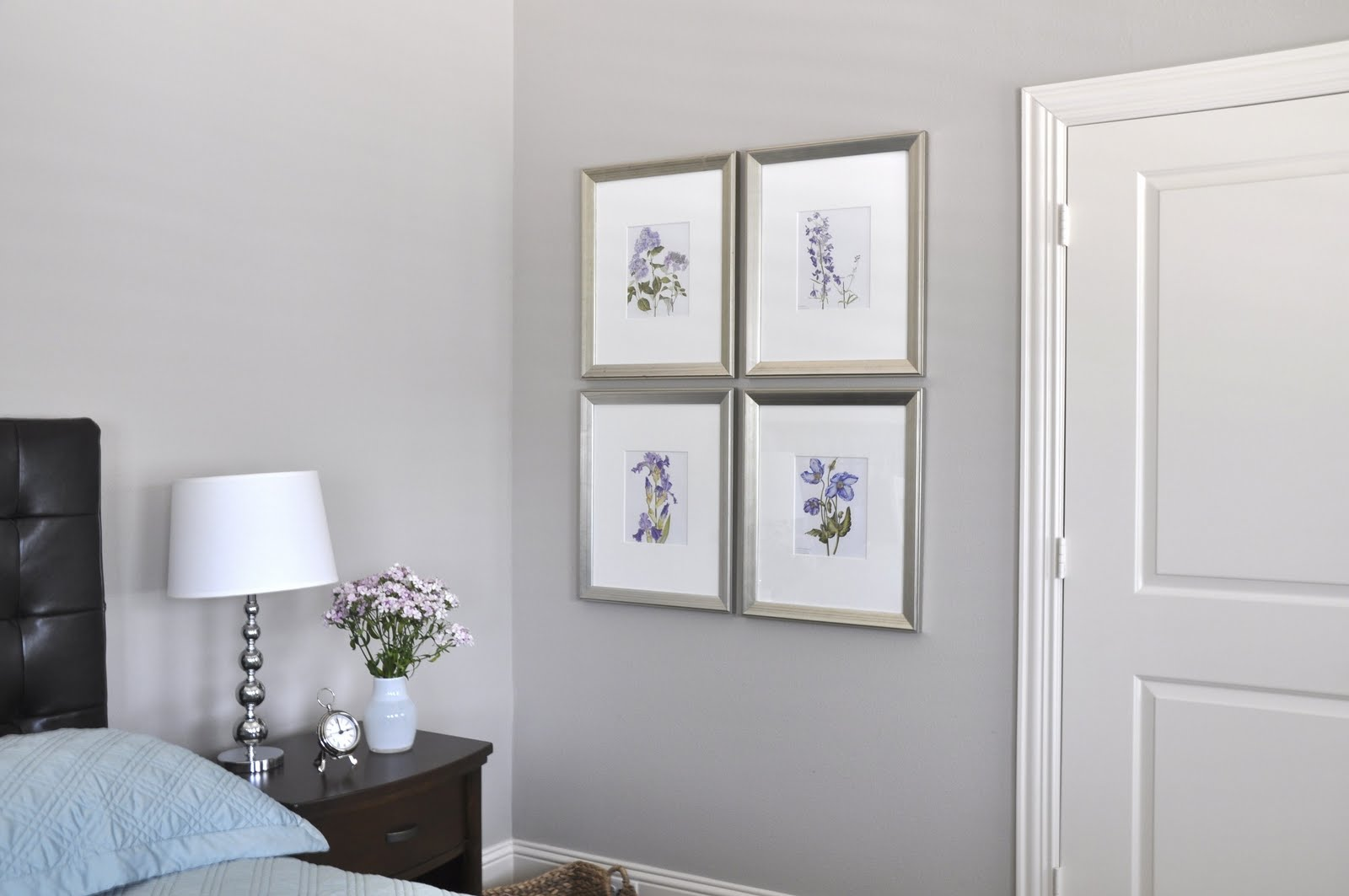 Inexpensive Bathroom Wall Decor : Inexpensive botanical wall art honey we re home