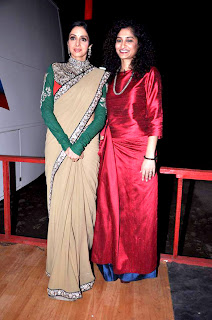 Sridevi on the sets of Kaun Banega Crorepati 6