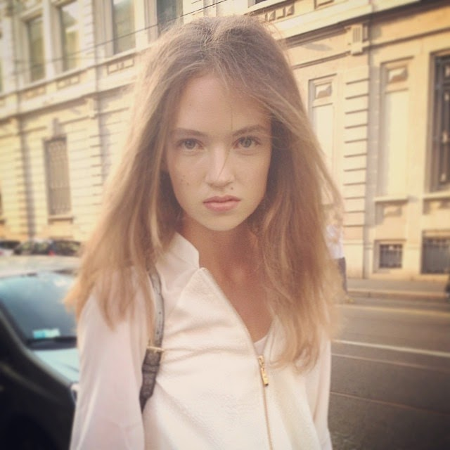 Adrienne Jüliger : New Face of Prada 2015 for menswear