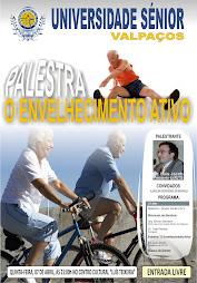"""Palestra - """"O Envelhecimento Activo"""""""