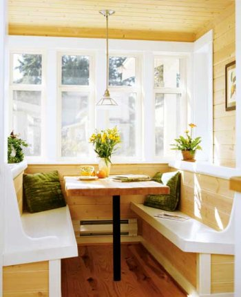 Breakfast nook table kitchen work table design ideas Breakfast nook bar ideas