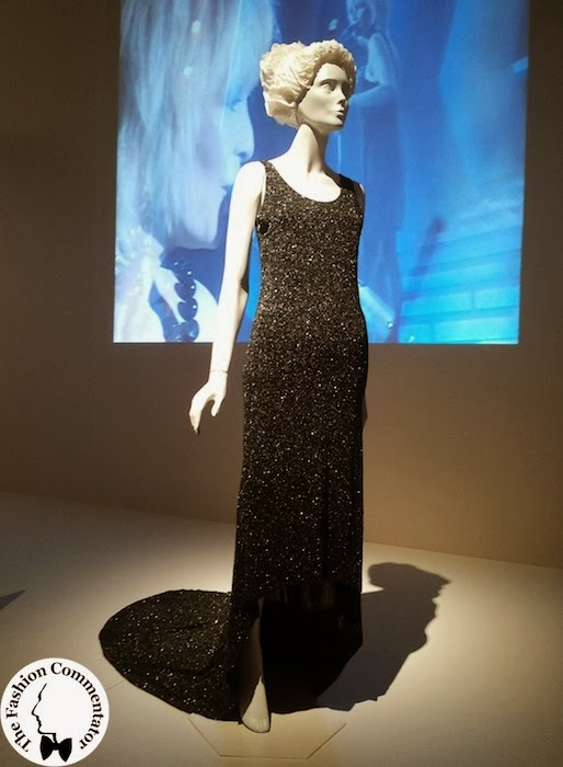 Donne protagoniste del Novecento - Patty Pravo - Gucci dress for Sanremo 1987 Galleria del Costume Firenze
