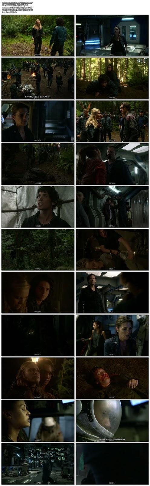Screenshots Of Hindi Dubbed Show The 100 2014 S01E04 300MB 720P HD
