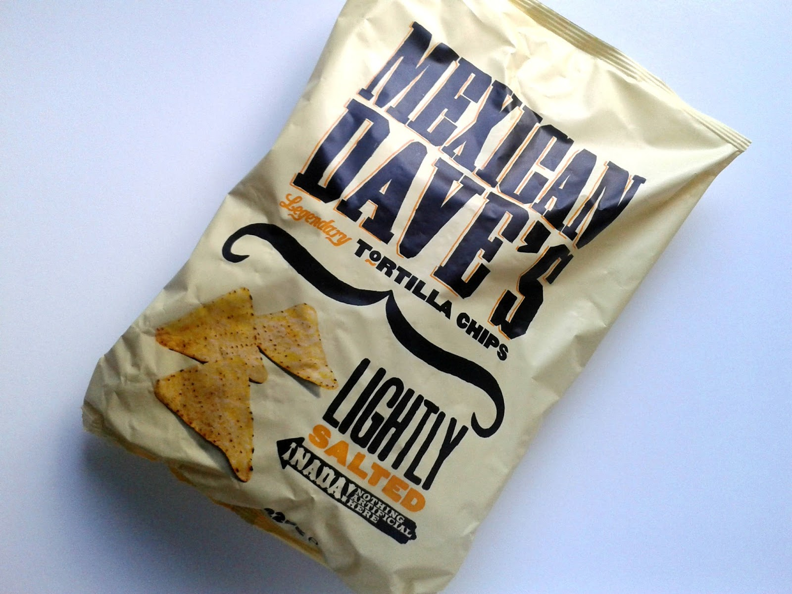 Mexican Dave's Legendary Lightly Salted Tortilla Chips August Degustabox Review