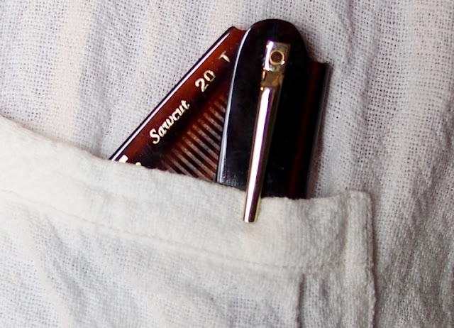 KENT 20T FOLDING POCKET COMB 85mm