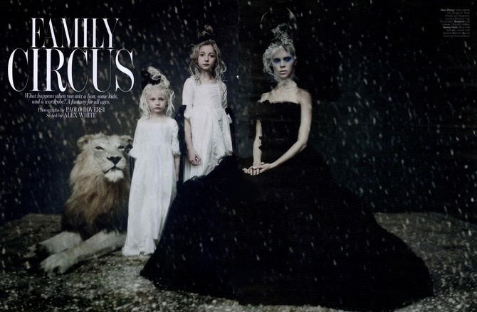 Family Circus by Paolo Roversi