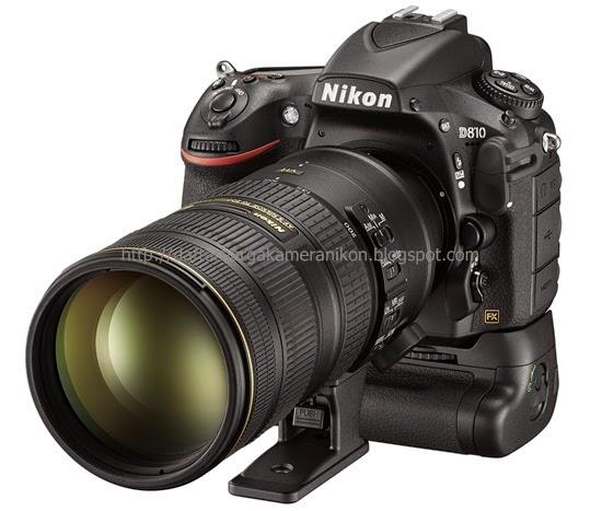 Harga Kamera DSLR Nikon D810