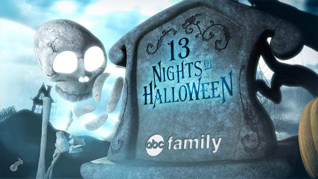 ABC Family 13 Nights of Halloween skeleton in graveyard