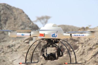 Drones de Nokia Network