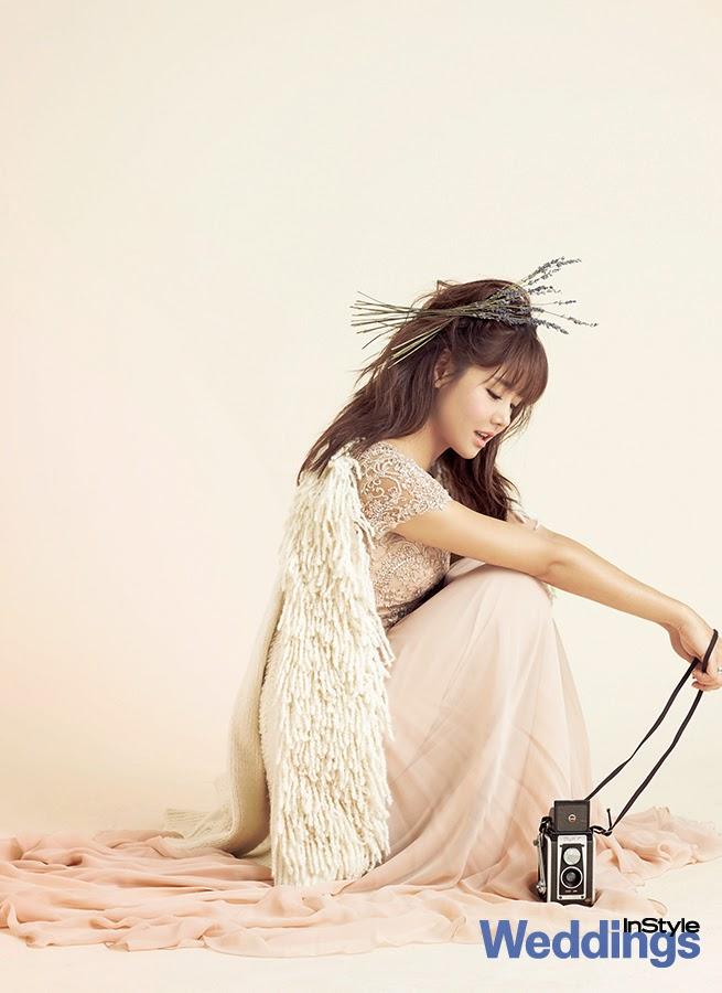 Lee Yeon Doo - InStyle Weddings Magazine January Issue 2014