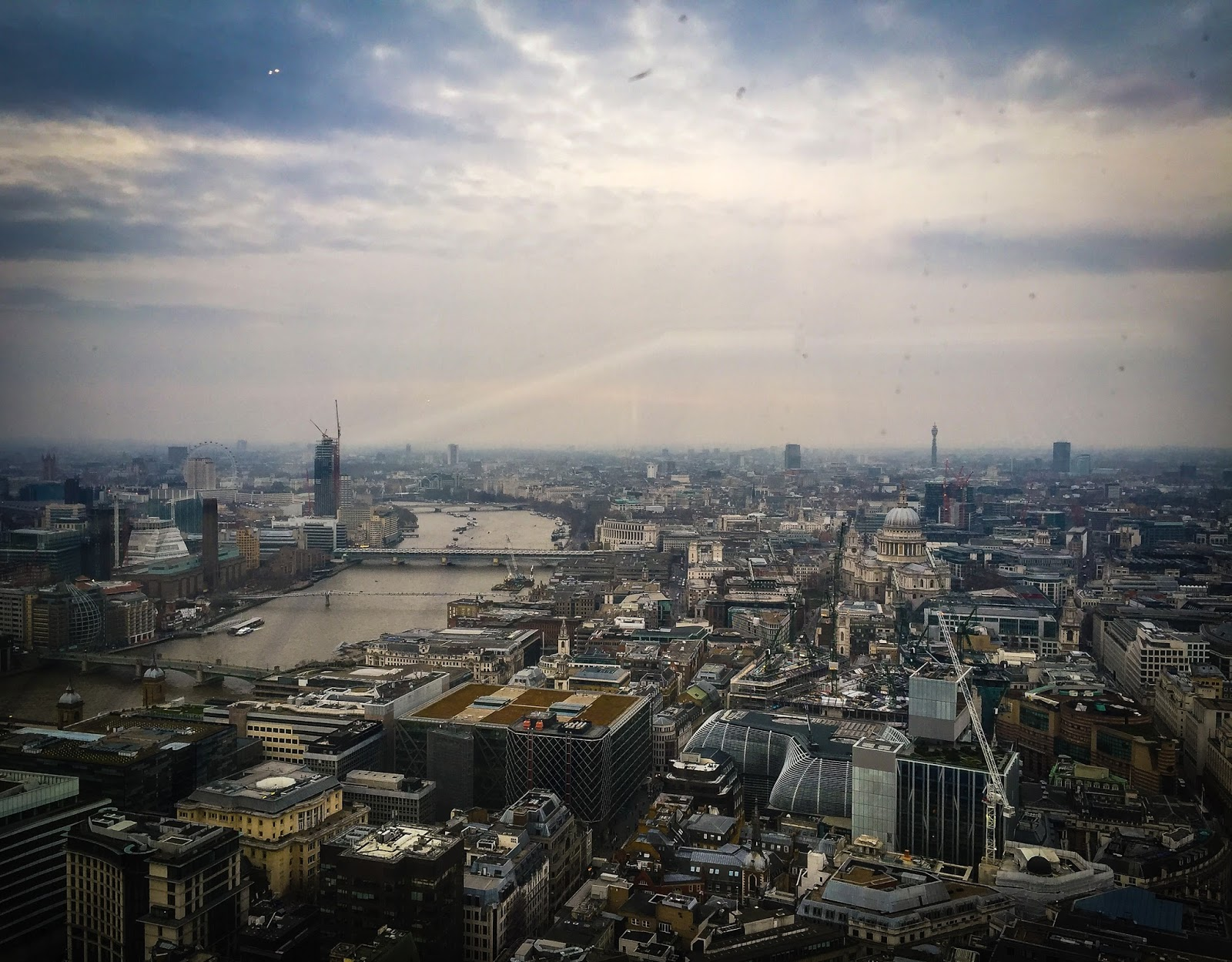 Exchange in london tips plus picture from the sky garden