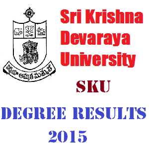 SKU Degree Results 2015