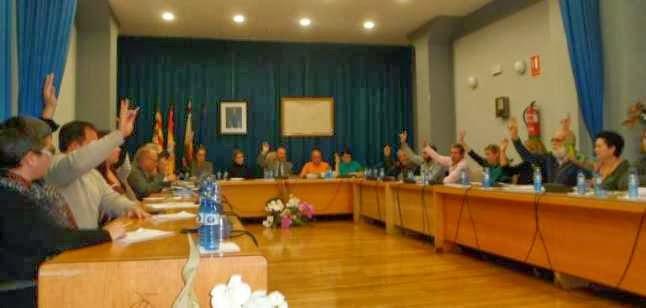 El Campello Town Hall Votes