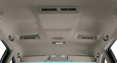 Fortuner SUV Interior