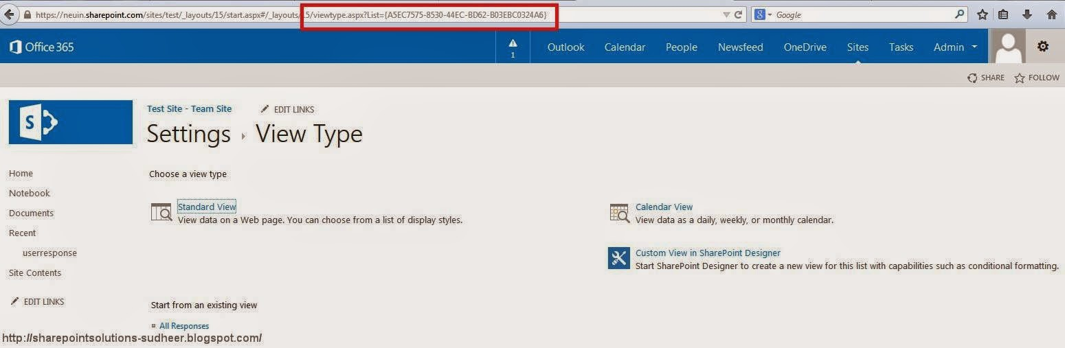 SharePoint Solutions - Create Custom View on SharePoint Survey List