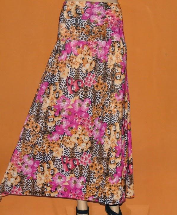 Rok Bunga Bahan Jersey RM295