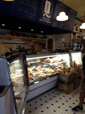 Deli counter at Quality Meats