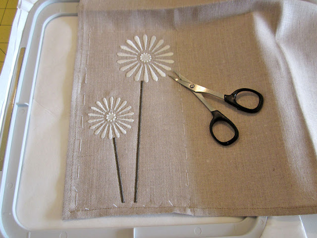 embroidery Table linens