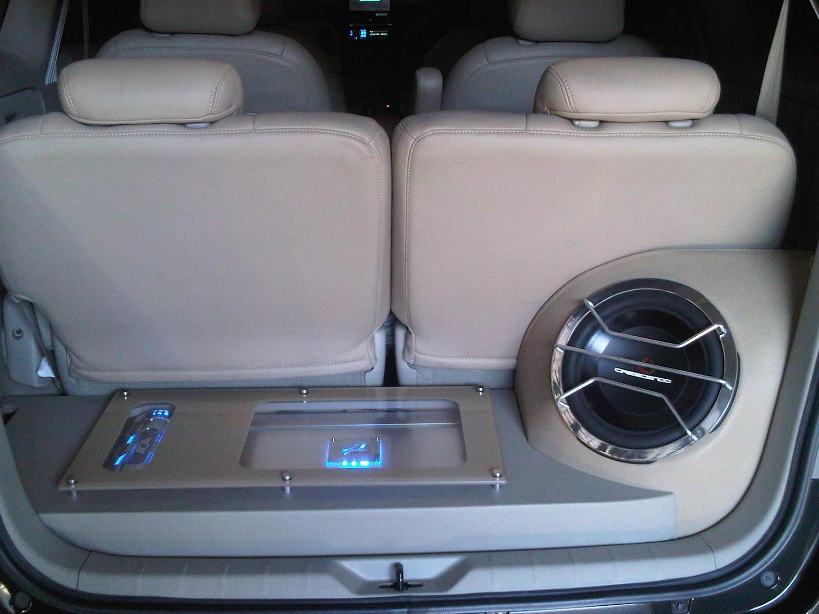 Rekomendasi Jenis Subwoofer Mobil yang Cocok untuk Mobil Keluarga