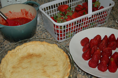 Grandma's Strawberry Pie | www.kettlercuisine.com