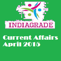Current Affairs 2nd April 2015