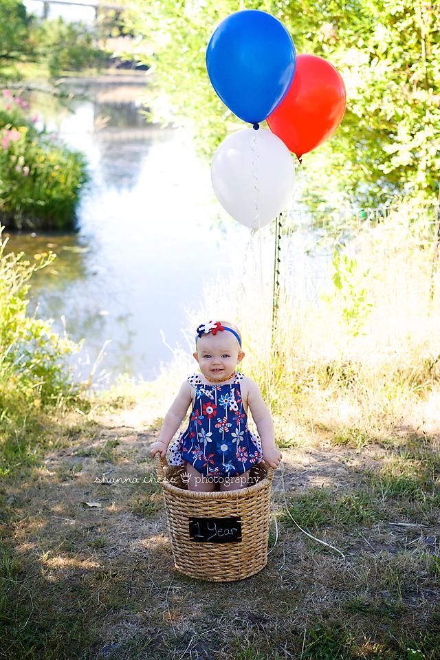 eugene springfield oregon baby photography balloons