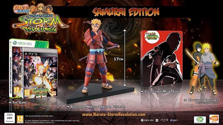 Naruto Storm Revolution Samurai Edition Edition