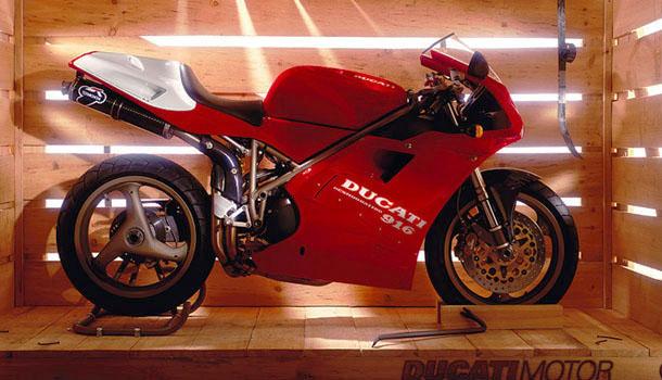 Ducati 851 Sport 1992 Front Or Rear Gold Slash Cut Billet Race Foot Pegs