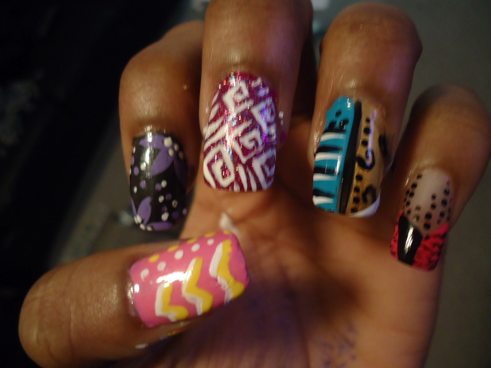 The Excellent Funky nail design pinterest Digital Imagery