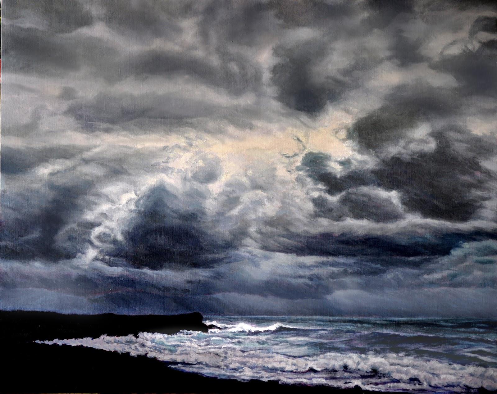 Katherine Kean Fine Art: A Storm Building