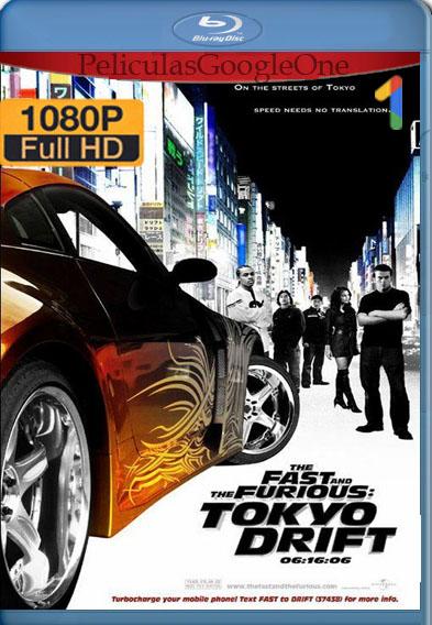 Rápido y furioso 3 Reto Tokio (2006) BDRip [1080p] [Latino] [GoogleDrive]