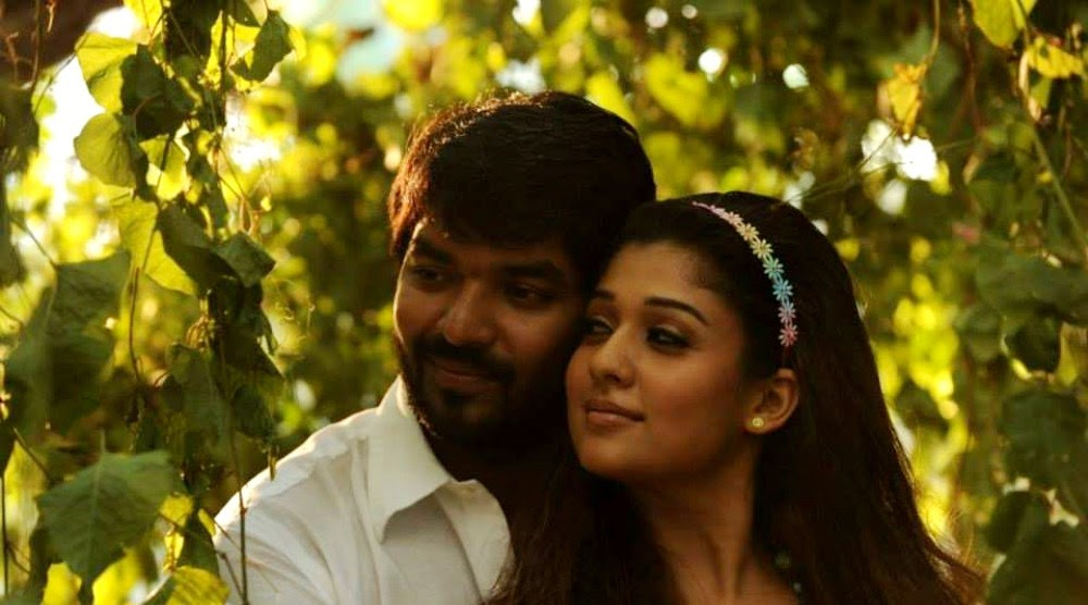 movie nayanatara and aarya are acting like a married couples movie